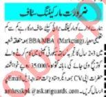 Mashriq Sunday Classified Ads 1st August 2021 for Marketing