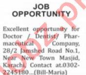 Nation Sunday Karachi Classified Ads 1st August 2021