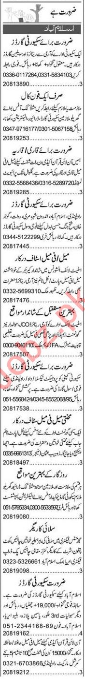 Merchandiser & Executive Manager Jobs 2021 in Islamabad