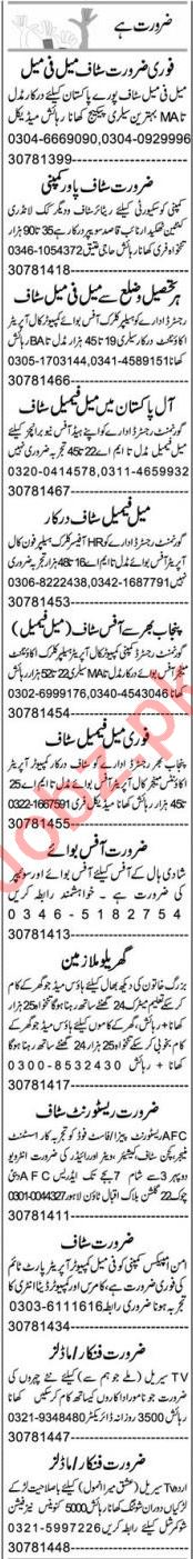 Purchase Assistant & Lab Assistant Jobs 2021 in Lahore
