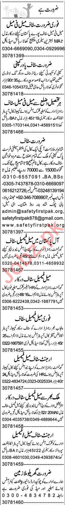 Accountant & Assistant Supervisor Jobs 2021 in Multan
