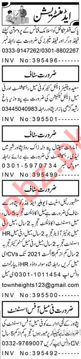 Assistant Supervisor & Branch Manager Jobs 2021 in Peshawar