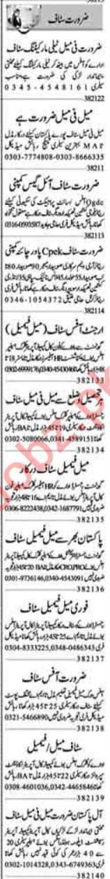 Admin Manager & Promotion Officer Jobs 2021 in Lahore