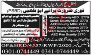 Security Guard & Security Officer Jobs Open in UAE 2021