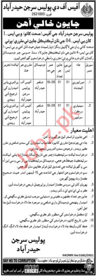 Police Surgeon Hyderabad Jobs 2021 for Mortuary Attendant