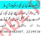 Science Teacher & Montessori Teacher Jobs 2021 in Peshawar
