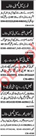 Call Operator & Computer Operator Jobs 2021 in Islamabad