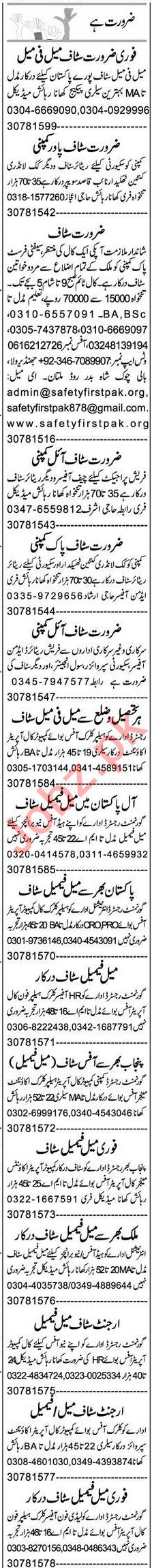 Promotion Officer & QA Analyst Jobs 2021 in Multan