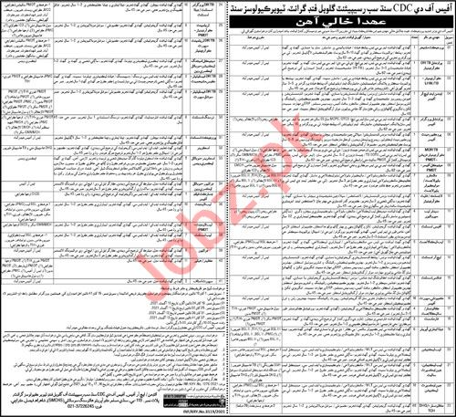 Provincial TB Control Program Sindh Jobs for Managers