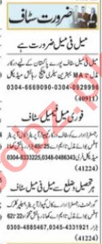 Admin Manager & Executive Manager Jobs 2021 in Lahore