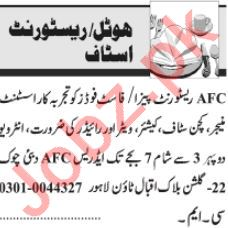 Hotel Manager & Shift Manager Jobs 2021 in Lahore