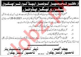 Tehsil Council Chakwal Jobs 2021 for Legal Advisor