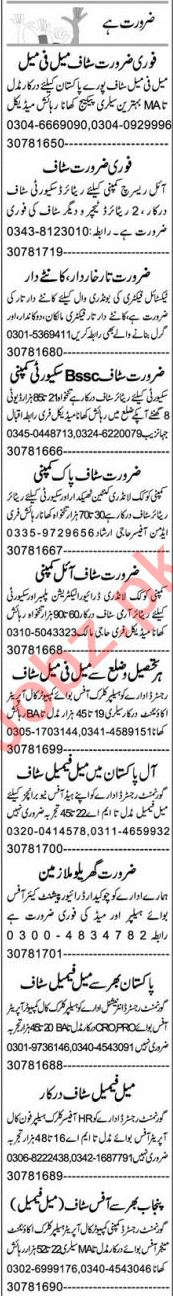 Branch Manager & Assistant Supervisor Jobs 2021 Faisalabad