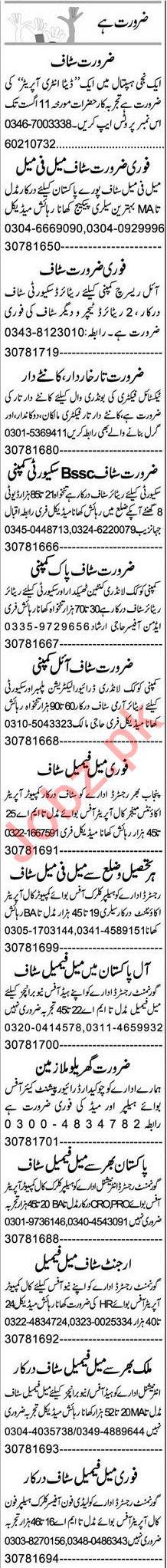 Data Entry Operator & Software Engineer Jobs 2021 in Multan