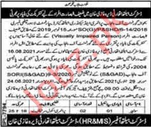 District Health Authority DHA Dera Ghazi Khan Jobs 2021