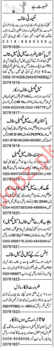 Computer Operator & Quality Controller Jobs 2021 in Lahore