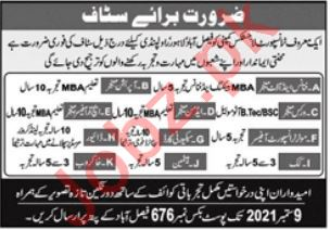 Finance Manager & Operation Manager Jobs 2021