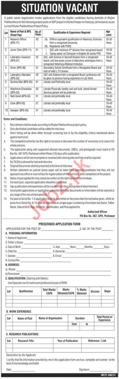 Public Sector Organization Islamabad Jobs 2021 for Clerks
