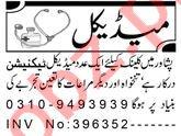 Lady Doctor & Medical Technician Jobs 2021 in Peshawar