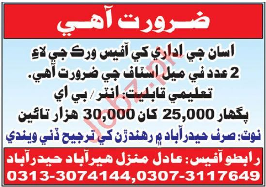 Office Secretary & Personal Assistant Jobs 2021 in Hyderabad
