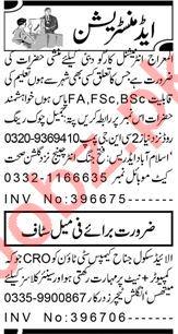 Accountant & Assistant Supervisor Jobs 2021 in Peshawar