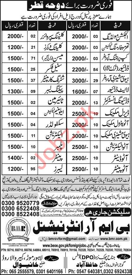 Injection Moulding Operator & Heavy Machinery Operator Jobs