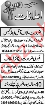 Security Guard & Location Supervisor Jobs 2021 in Abbottabad