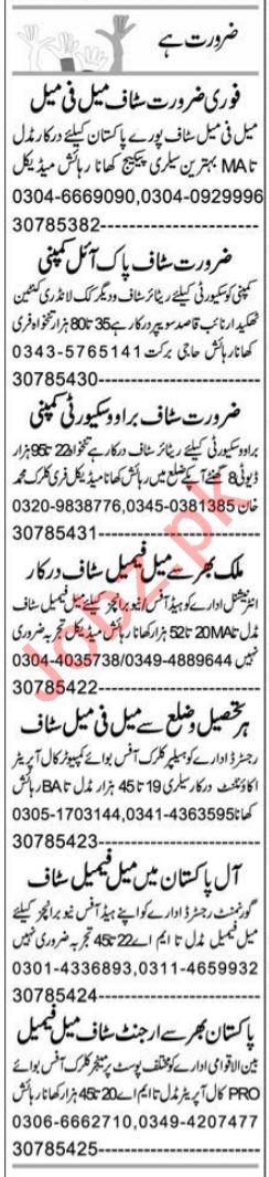 Data Entry Operator & Telemarketer Jobs 2021 in Peshawar