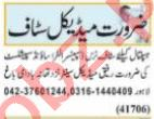 Medical Officer & Gynecologist Jobs 2021 in Lahore
