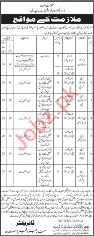 Minorities Affairs Department Hyderabad Jobs 2021