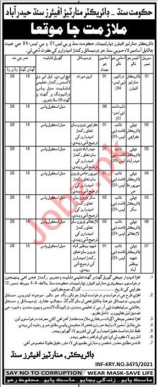 Minorities Affairs Department Sindh Jobs 2021 for Naib Qasid