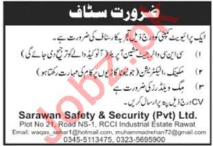 Technical Staff Jobs 2021 In Rawat