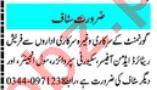 Mashriq Sunday Classified Ads 12 Sep 2021 for Office Staff