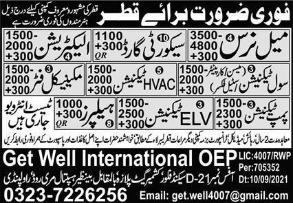 Management Jobs in Qartar