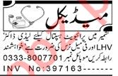 Lady Doctor & Female Nurse Jobs 2021 in Peshawar