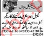 AC Technician & Electrician Jobs 2021 in Lahore