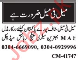 Accounts Officer & Branch Manager Jobs 2021 in Islamabad