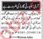 Security Guard & Watchman Jobs 2021 in Karachi