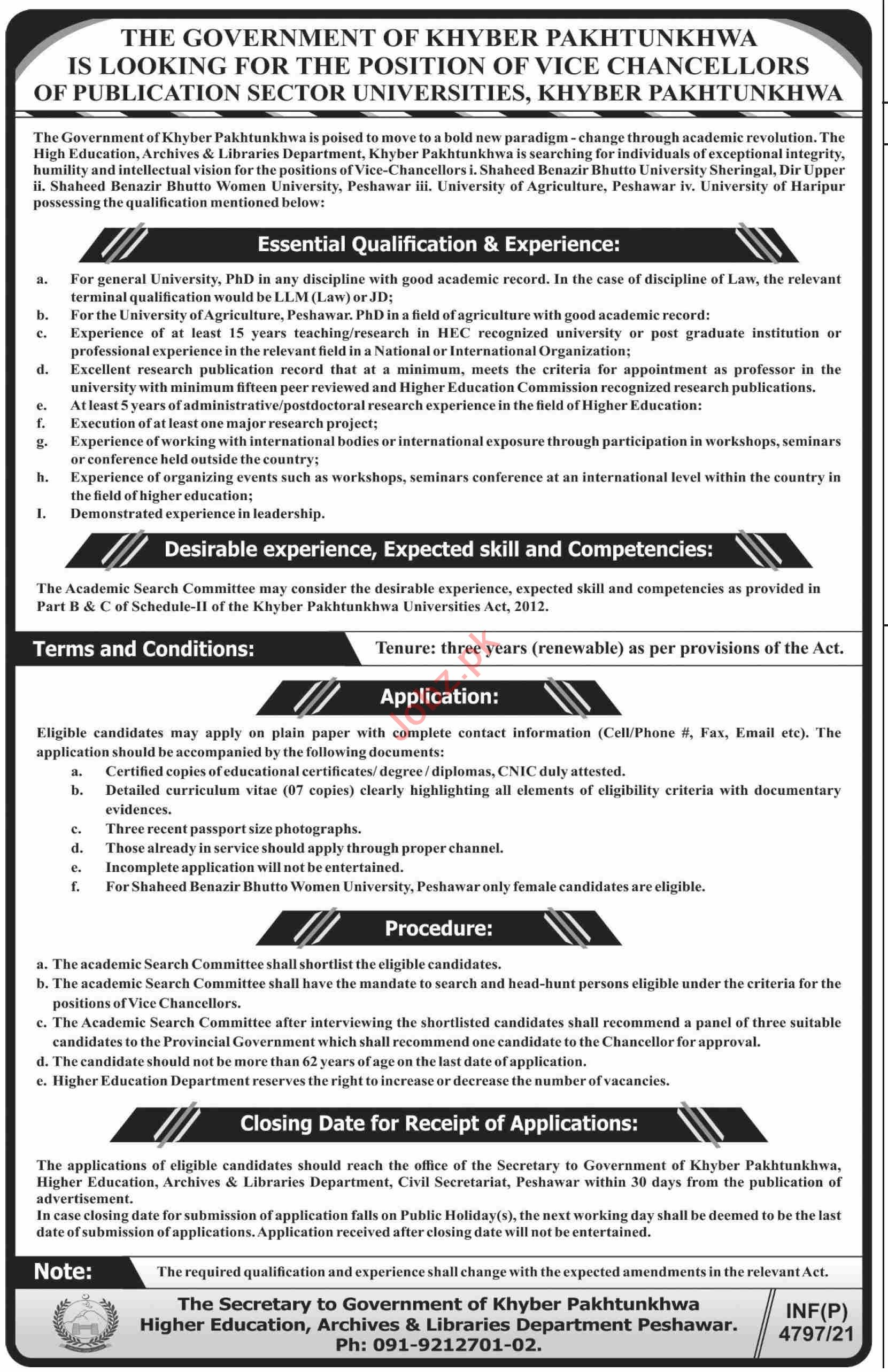 Higher Education Archives & Libraries Department Jobs 2021