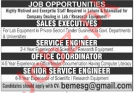 Private Company Jobs 2021in Lahore & Islamabad