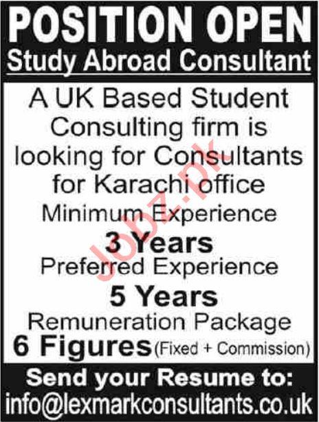 Educational Consultant Jobs in Karachi