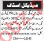 Nawaiwaqt Sunday Classified Ads 19 Sep 2021 Medical Staff