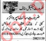 Dunya Sunday Classified Ads 19 Sep 2021 for Technical