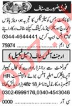 Khabrain Sunday Classified Ads 19 Sep 2021 for Management