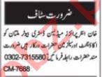 Salesman & Public Relation Officer Jobs 2021 in Multan