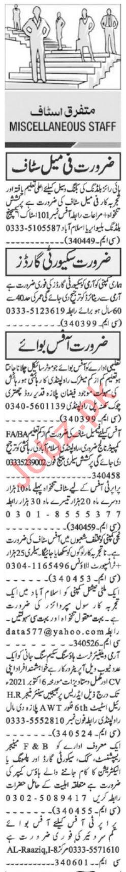 Assistant Supervisor & Site Supervisor Jobs 2021 Islamabad