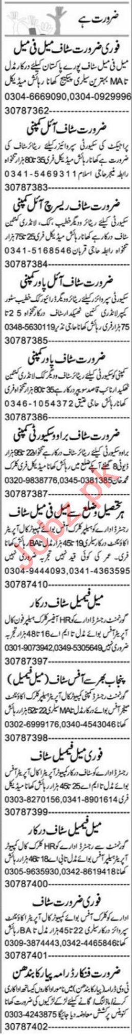 Graphic Designer & Front Desk Officer Jobs 2021 in Multan