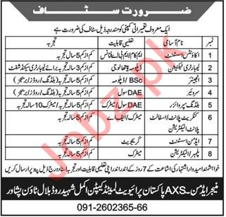 AXS Pakistan Jobs 2021 for Accounts Assistant