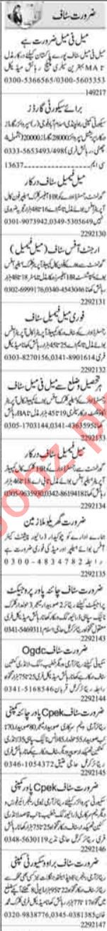 Computer Operator & Telephone Operator Jobs 2021 Islamabad