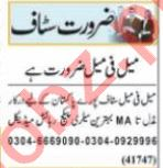 Public Relation Officer & Cashier Jobs 2021 in Lahore